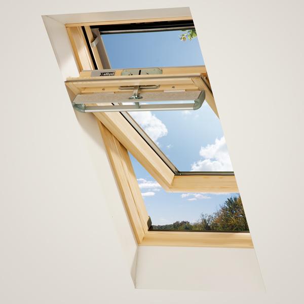 Okna dachowe drewniane - Extra