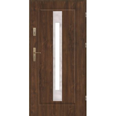 Drzwi zewnętrzne stalowe FINEZJA 24 INOX