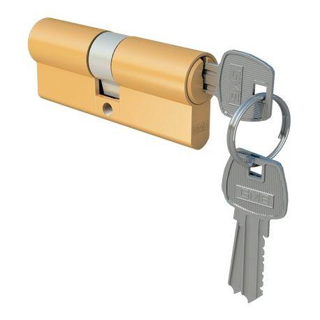 Wkładka drzwiowa 30/40 mosiądz dolna