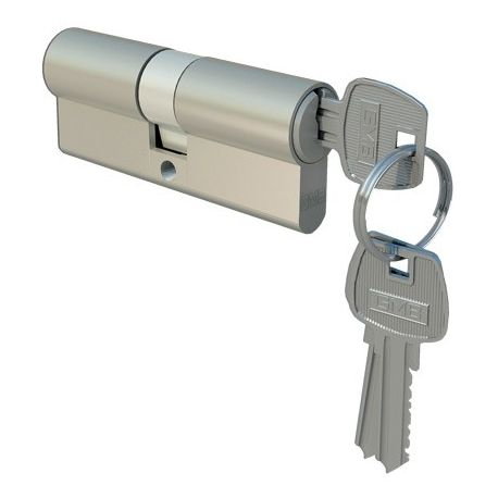 Wkładka drzwiowa 30/40 nikiel dolna