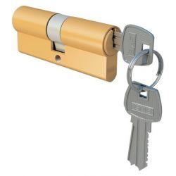 Wkładka drzwiowa 30/45 mosiądz dolna