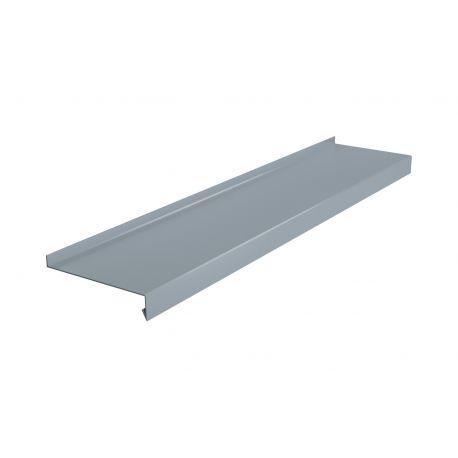 Parapet zewnętrzny stalowy standard - RAL 9006 ( Srebrny)