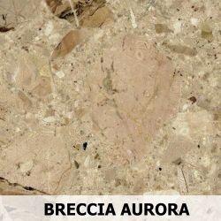 Parapet wewnętrzny z Aglomarmur BRECCIA AURORA
