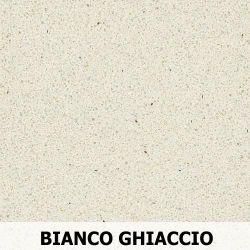 Parapet wewnętrzny z Aglomarmur BIANCO GHIACCIO