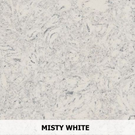 Parapet Wewnetrzny Z Aglomarmur Misty White Parapety Wewnetrzne