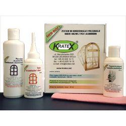 Zestaw do konserwacji i pielągnacji parapetów okien i drzwi PCV