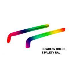 Zakończenia (Zaślepki) PCV do parapetów zewnętrznych - Dowolny kolor RAL