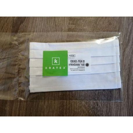 Zestaw 5szt. maseczek ochronnych 2-warstwowych bawełnianych