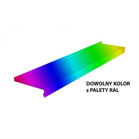 Parapet zewnętrzny stalowy standard - Dowolny kolor RAL do 4m