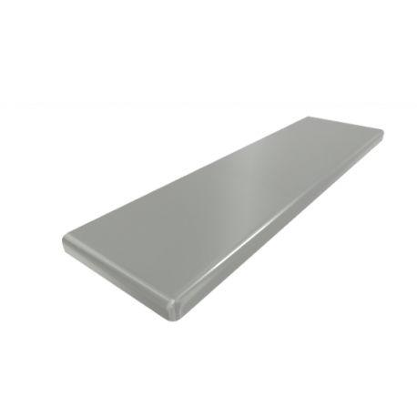 Parapet MDF KX - Srebrny mat