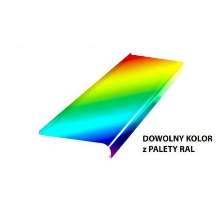 Parapet zewnętrzny aluminiowy softline - Dowolny kolor RAL do 4m