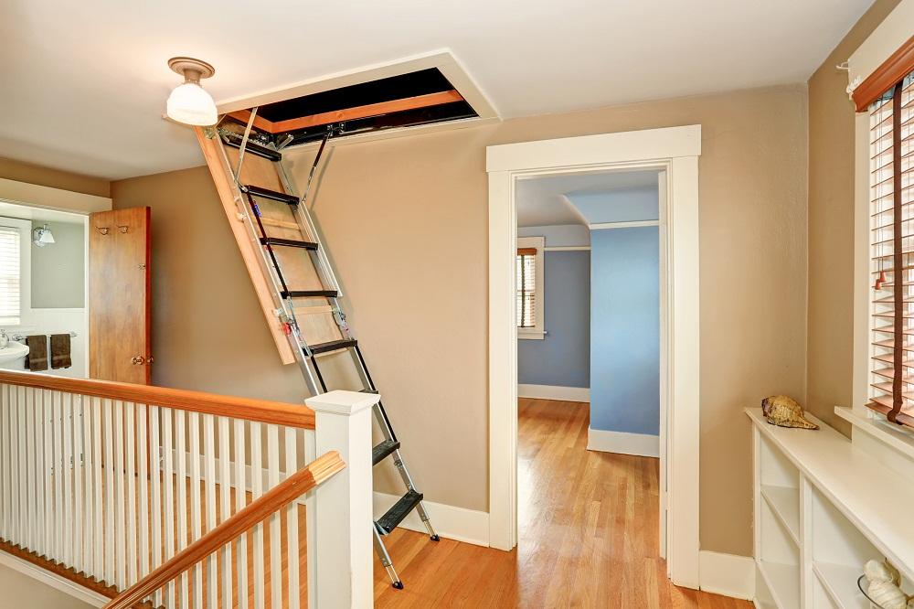Zasady montażu schodów strychowych