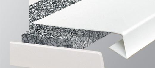 Parapet renowacyjny marmur- nakładka